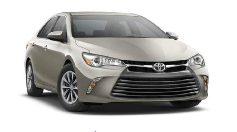 2017 Toyota Camry in Creme Brulee Mica