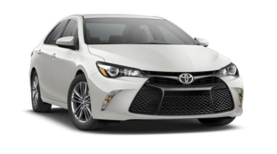2017 Toyota Camry in Blizzard Pearl