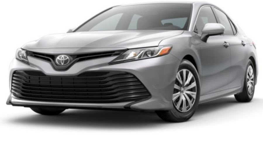 2018 Toyota Camry in Celestial Silver Metallic
