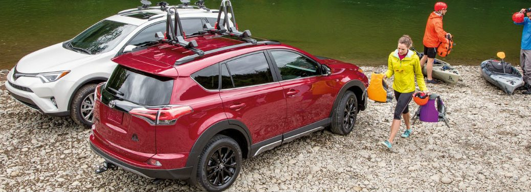 What is the Price of the 2018 Toyota RAV4 Adventure?