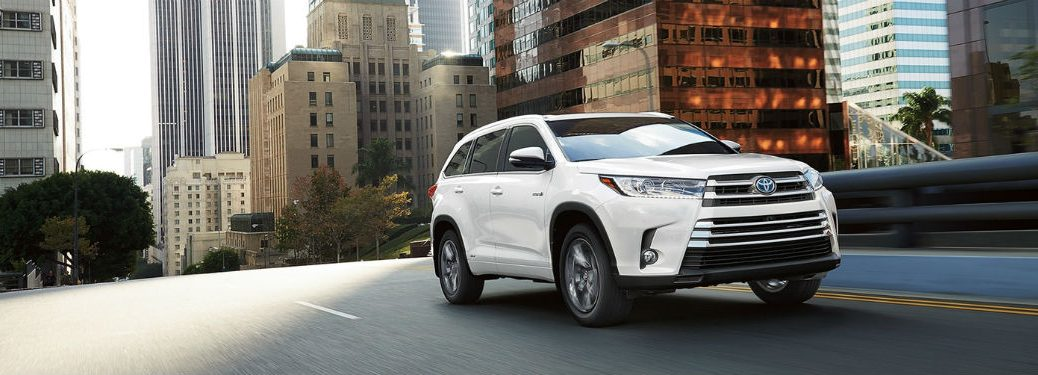 2018 Toyota Highlander Specs and Features