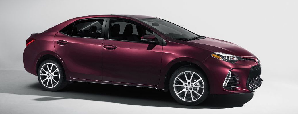 2018 Toyota Corolla in the spotlight