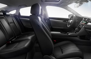 Front seats in the 2019 Honda Civic
