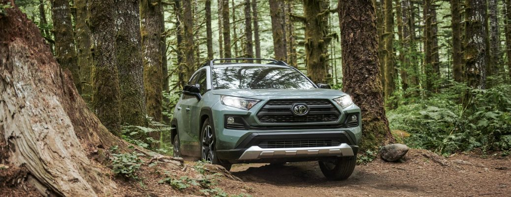 2019 Toyota RAV4 Adventure in the woods