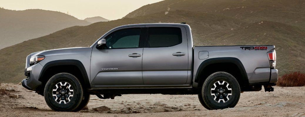 2020 Toyota Tacoma in the desert