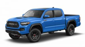 2019 Toyota Tacoma in Voodoo Blue