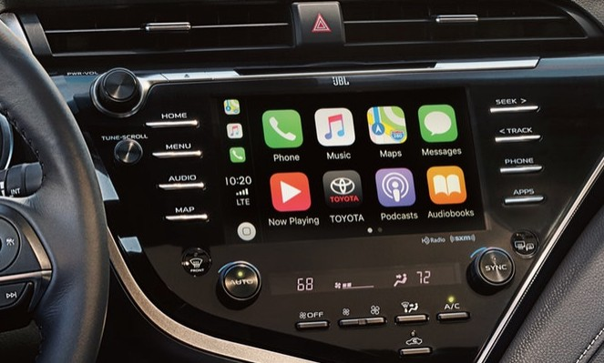 Apple CarPlay in the 2019 Toyota Camry