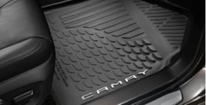 2019 Toyota Camry XSE all-weather mats