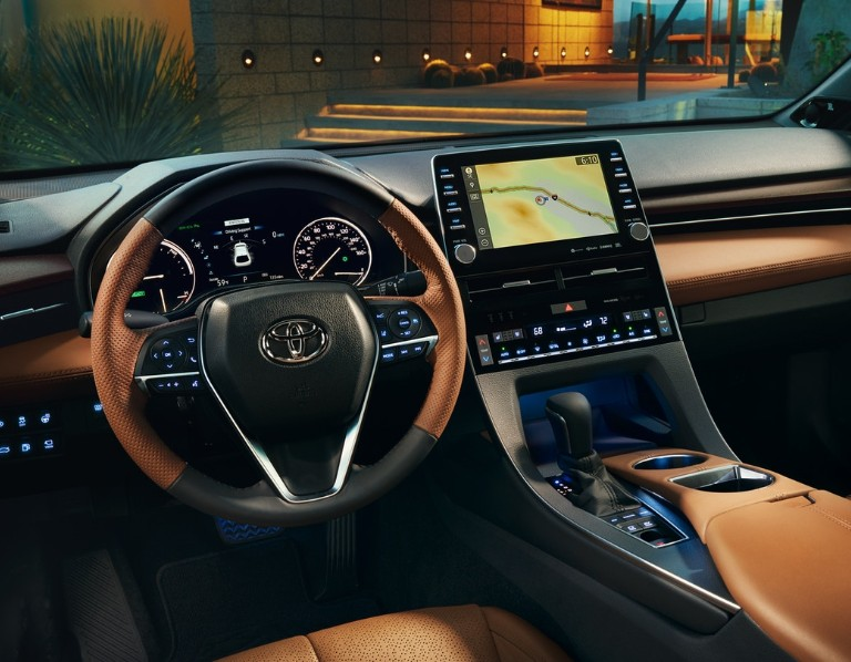 Cabin of the 2020 Toyota Avalon