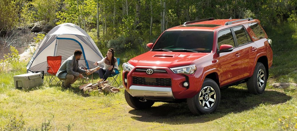 2020 Toyota 4Runner by camping site