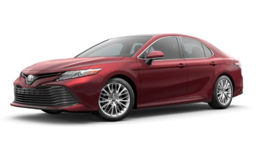 2020 Toyota Camry in Ruby Flare Pearl