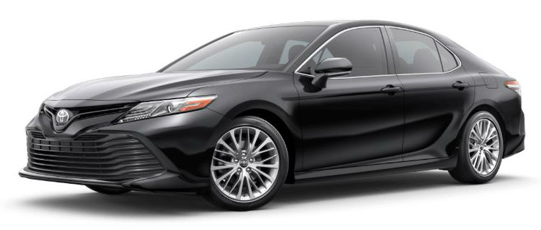 2020 Toyota Camry in Midnight Black Metallic