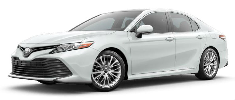 2020 Toyota Camry in Wild Chill Pearl