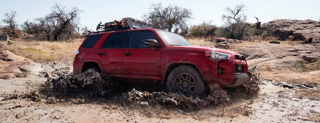 2020 Toyota 4Runner Venture Edition in mud