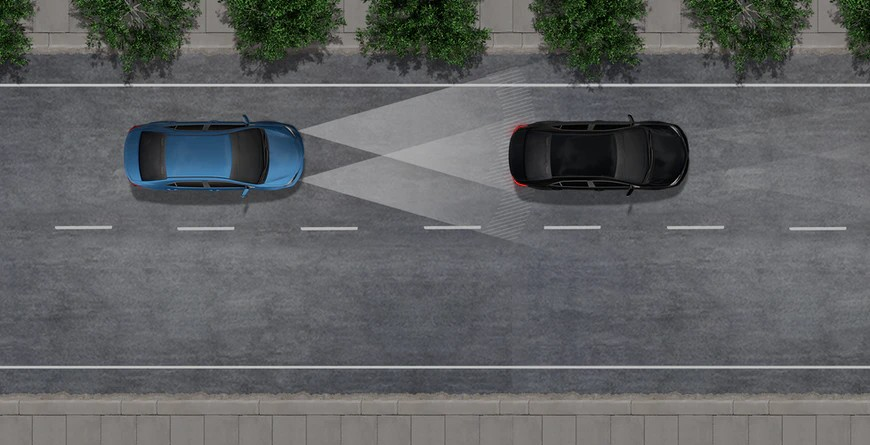 Graphic of Automatic High Beams