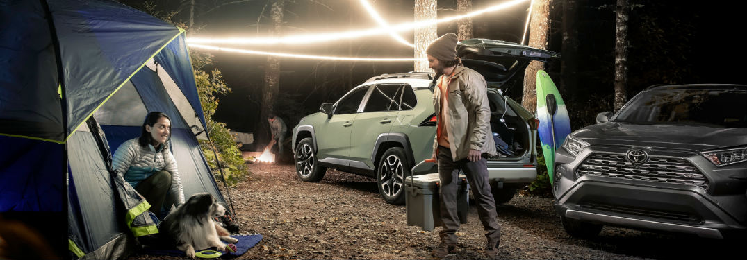 2020 Toyota RAV4 offers a long list of technology features and comfort options