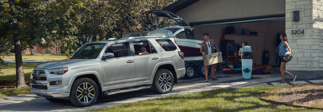 Large interior of 2020 Toyota 4Runner SUV provides a lot of passenger and cargo space