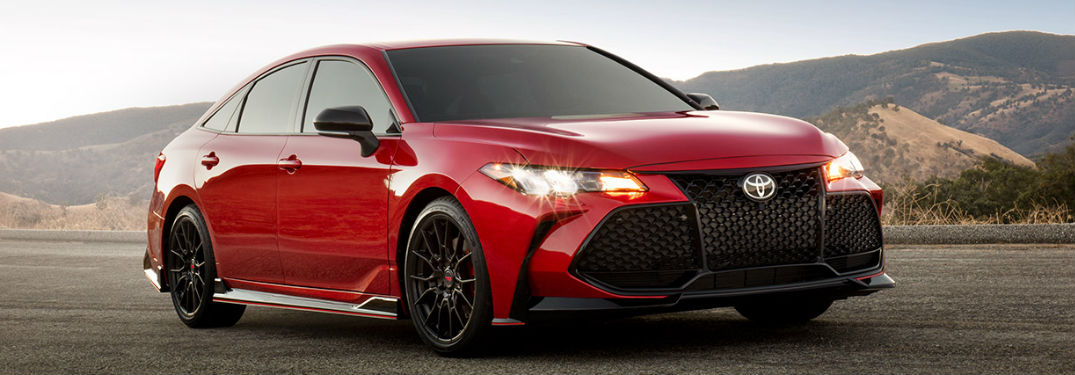 9 Color options to choose from when buying the 2020 Toyota Avalon luxury sedan