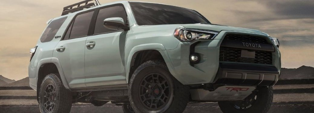 2021 Toyota 4Runner front and side profile