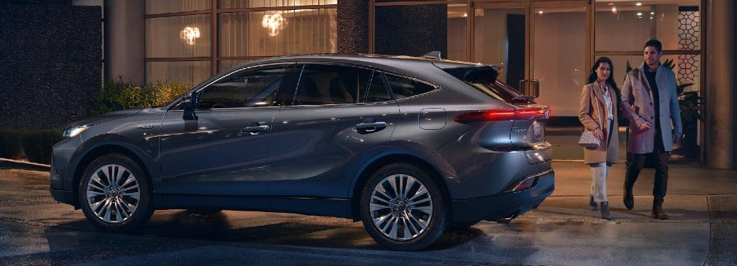2021 Toyota Venza parked on a street