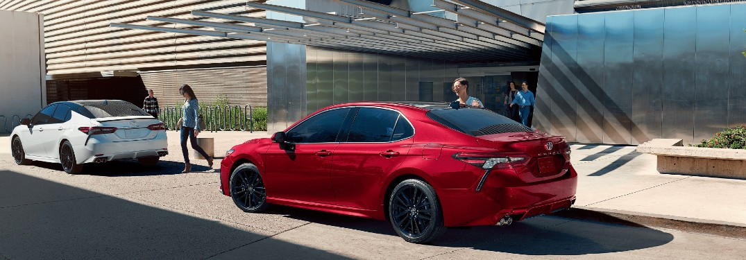 2021 Toyota Camry sedan is available in 13 different paint color options