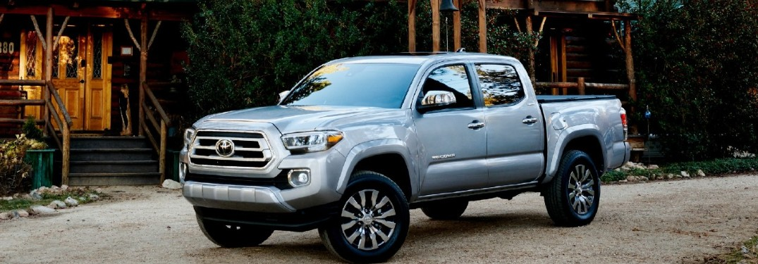 2021 Toyota Tacoma pickup truck is available in 10 exterior paint color options