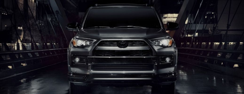 front view of the 2021 Toyota 4Runner in Nightshade Special Edition