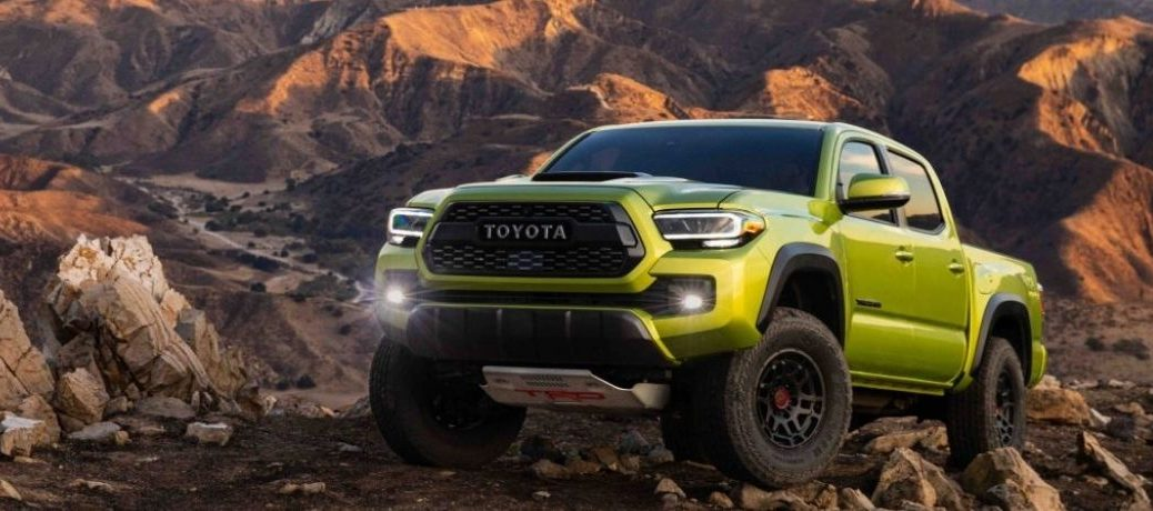 front view of 2022 Tacoma Trail Edition