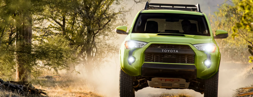 front view of the 2022 Toyota 4Runner