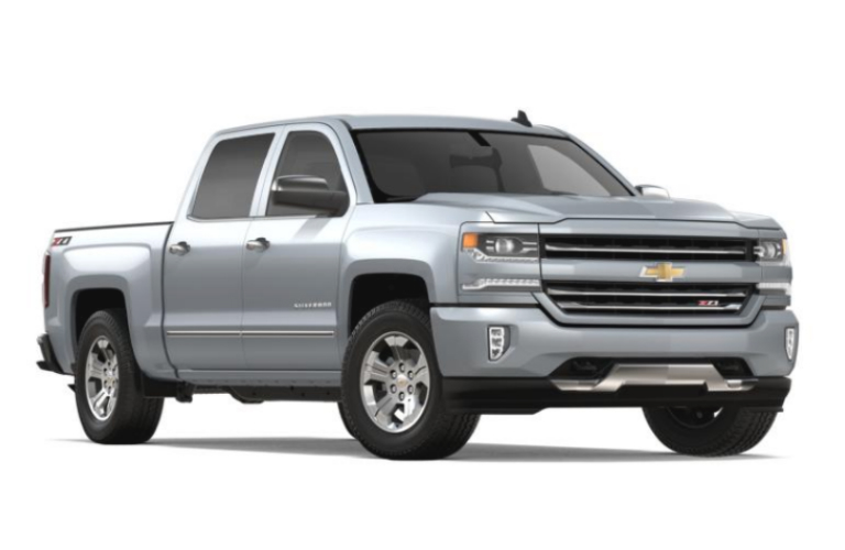 2018 Chevy Silverado 1500 Exterior Color Options