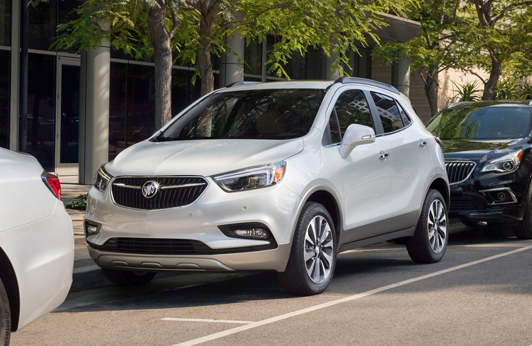 2020 Buick Encore parked on side of street
