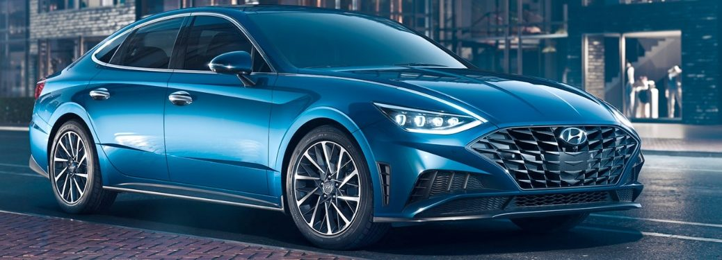 2020 Hyundai Sonata parked on side of the street