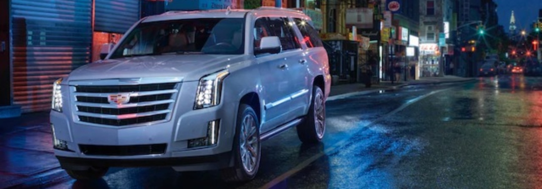 Eight beautiful exterior colors are now available on the 2020 Cadillac Escalade!