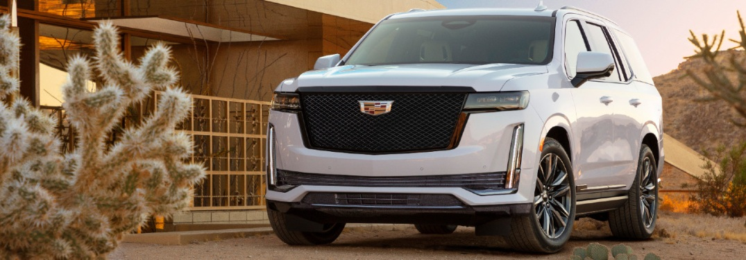 Get a first peek of the redesigned 2021 Cadillac Escalade!