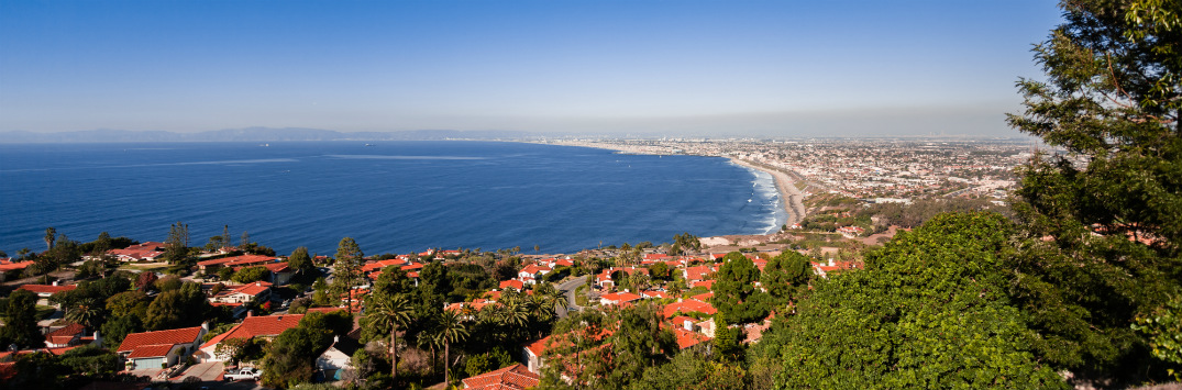 View of the Ocean from Palos Verdes Estate