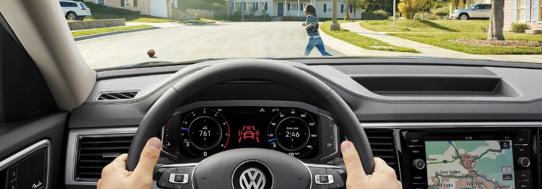What Volkswagen Models Offer the Pedestrian Monitoring Feature?