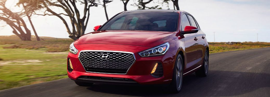 2018 Hyundai Elantra GT driving on a road