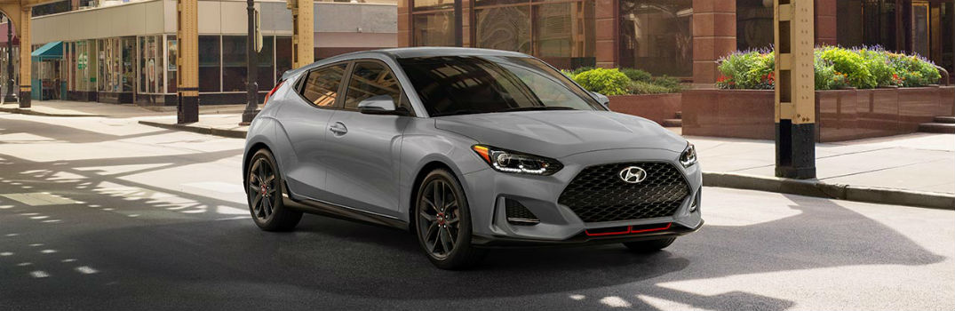 2019 Hyundai Veloster Color Options