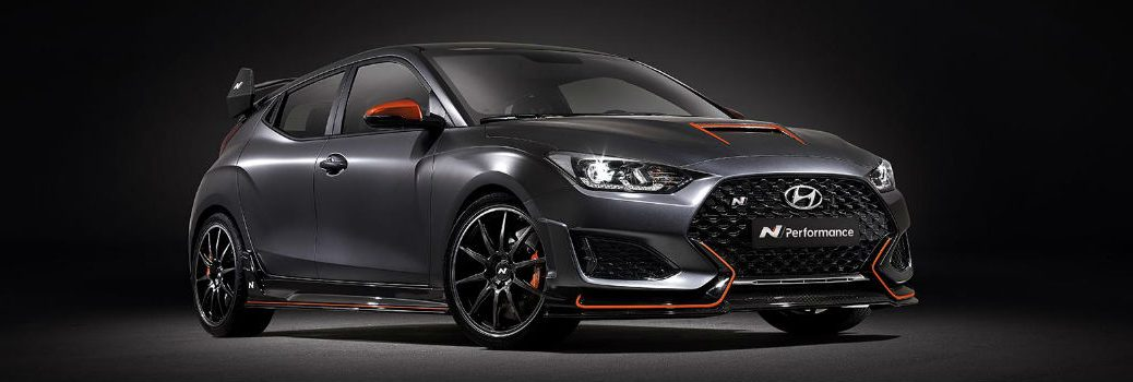 2020 Hyundai Veloster N Performance Concept Exterior Passenger Side Front Profile