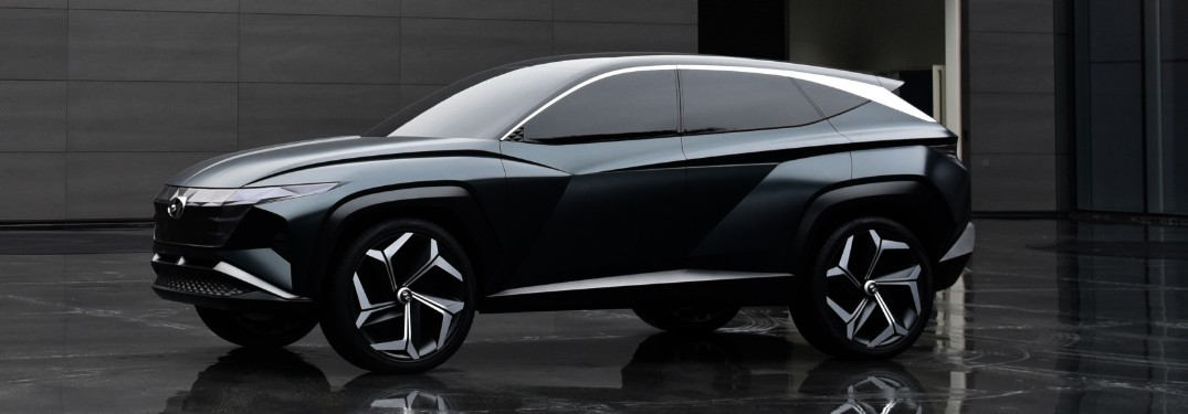 Hyundai Vision T Plug-in Hybrid SUV Concept Style & Design Cues