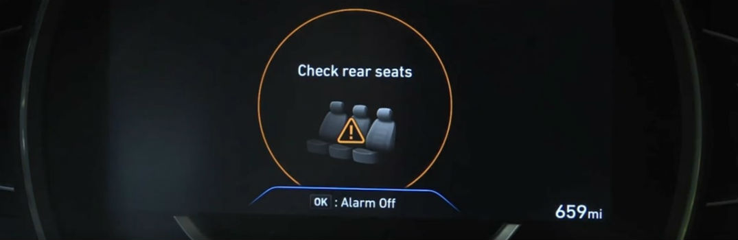 When will Hyundai Rear Occupant Alert become standard?