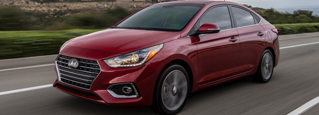 2021 Hyundai Accent Exterior Driver Side Front Profile