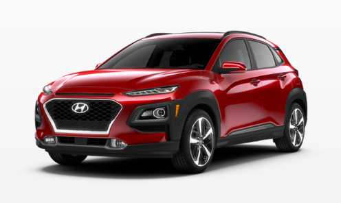 2020 Hyundai Kona Pulse Red