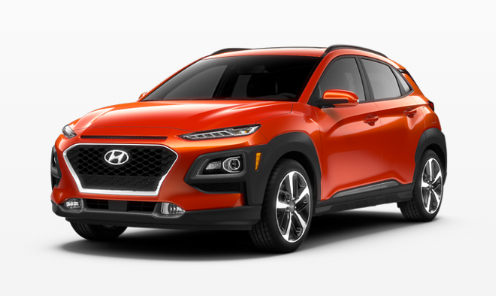 2020 Hyundai Kona Sunset Orange