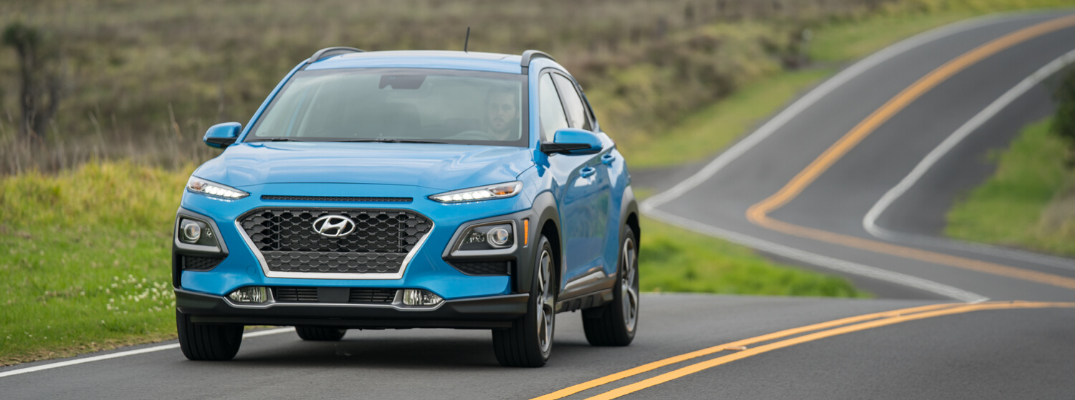 The 2020 Hyundai Kona Turns Heads on the Road Thanks to a Cool Eight-Color Palette