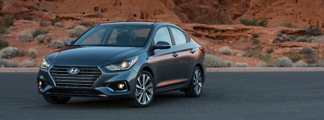 Seven Vibrant Colors Lead the Way for the 2020 Hyundai Accent