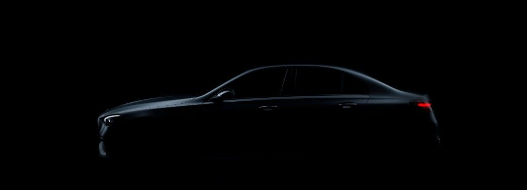 Silhouette of 2022 Mercedes-Benz C-Class
