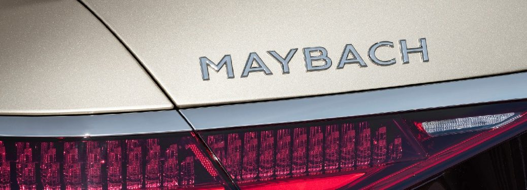 2022 Mercedes-Maybach S-Class Maybach decal