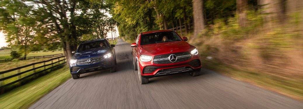 2021 Mercedes-Benz GLC 300 SUVs from exterior front