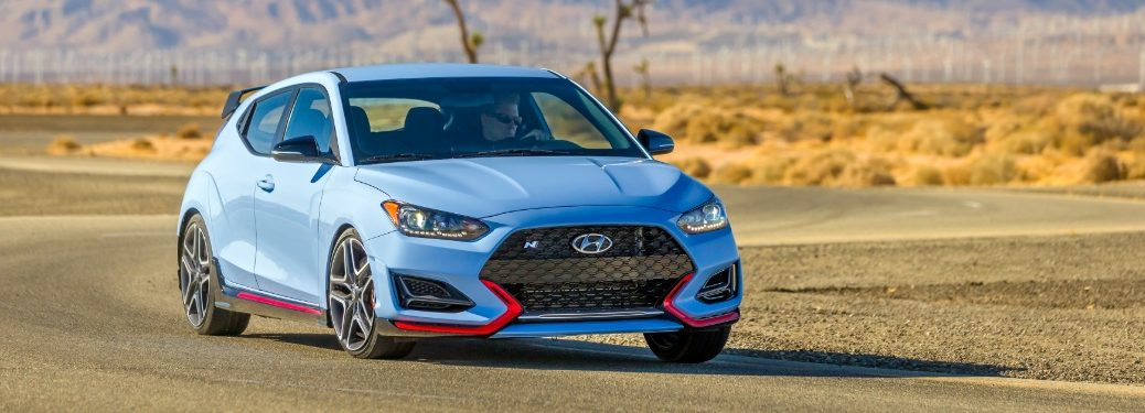 2021 Veloster N on race track